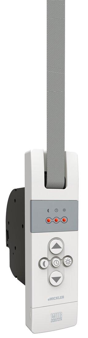 2x elektrischer Gurtwickler f/ür 23mm Gurtband Unterputz inkl WIR elektronik Fahrtzeiten einstellbar bis 50Kg 1x Funkuhr eU140 eWickler Standard 2 Fenster Funk-Set Netzstecker eW830-F