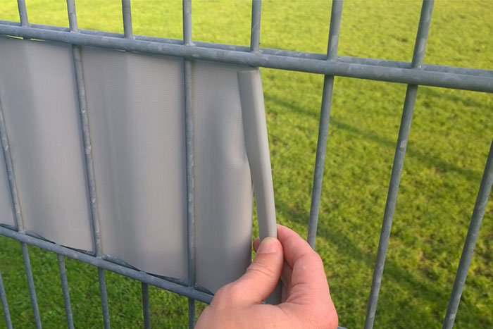 Jarolift PVC Sichschutzstreifen Impression Varianten