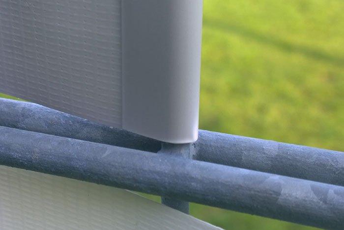 Jarolift Befestigungsclips für PVC Sichschutzstreifen Impression