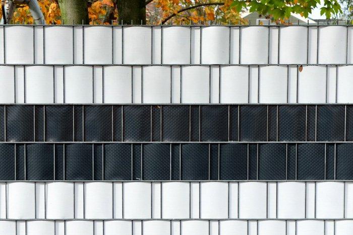 Jarolift PVC Sichschutzstreifen Impression Zaun