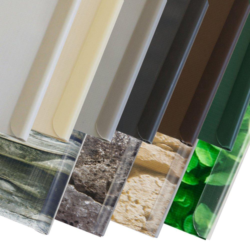 Jarolift PVC-Sichschutzstreifen Befestigungsclips