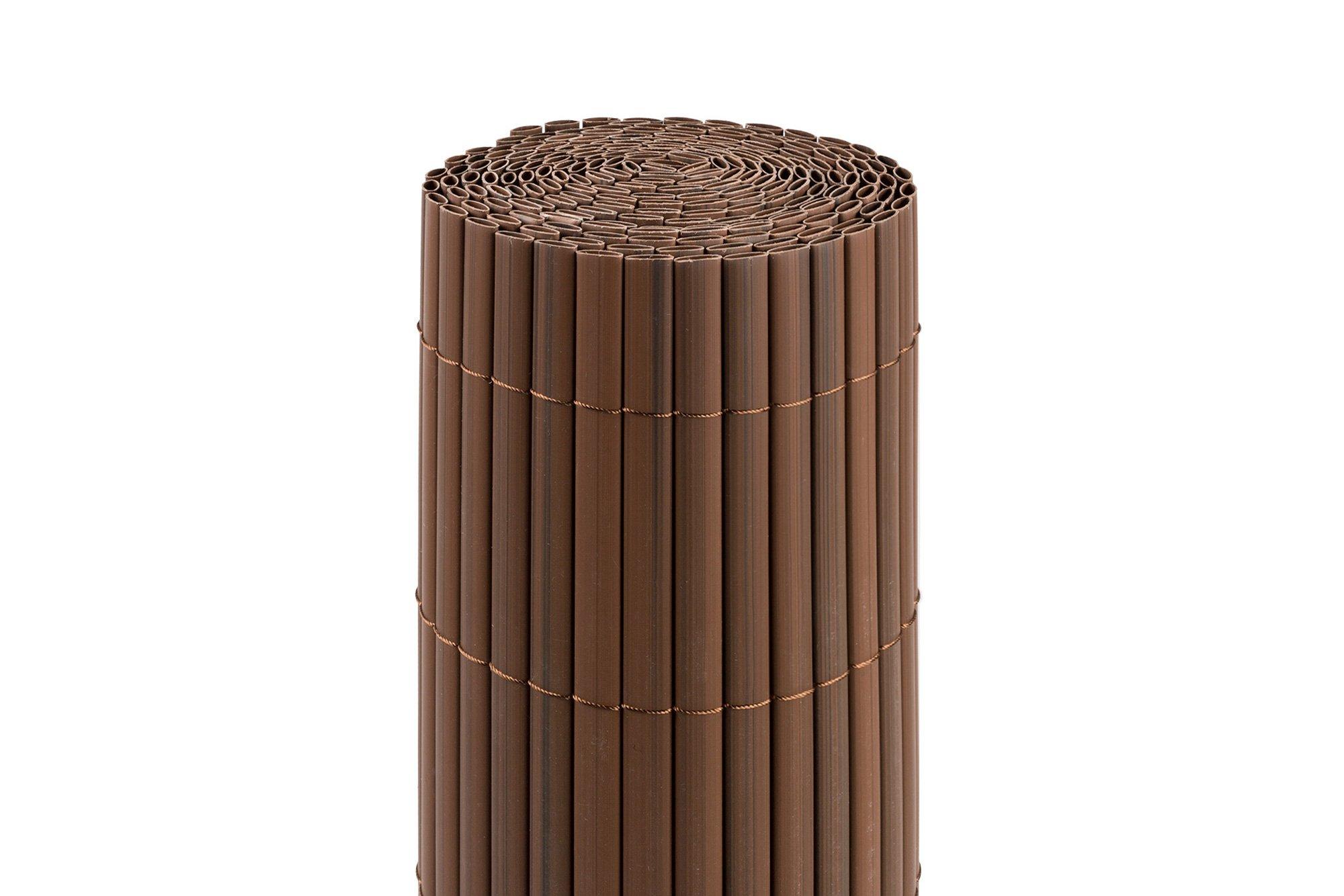 Jarolift PVC-Sichschutzmatten braun Impression